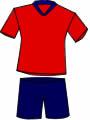 equipacion Club Deportivo Aurrera de Vitoria