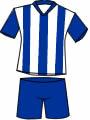 equipacion Real Club Deportivo de La Coruña
