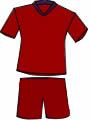 equipacion Club Deportivo Escuelas de Fútbol Logroño
