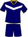 equipacion Club de Fútbol Badalona